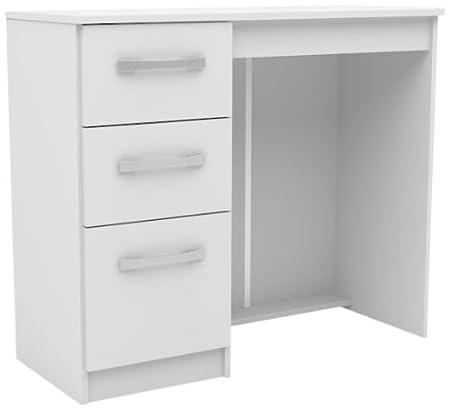 Birlea Furniture LYNDRWHT - Producto de almacenaje de cama infantil, color blanco