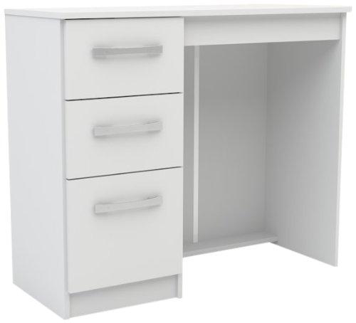 Birlea Furniture Lynx Frisiertisch mit 3 Schubladen weiß