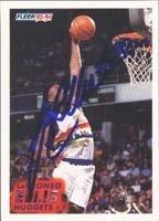 LaPhonso Ellis Denver Nuggets 1994 Fleer Autographed Hand Signed Trading Card. by Hall+of+Fame+Memorabilia