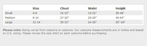Imagen de Gothic Girls Maiden Vamp Costume Mediana 8.10