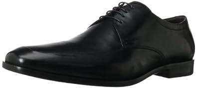 ECCO Men's Dacono Apron Tie Oxford,Black,39 EU/5-5.5 M US