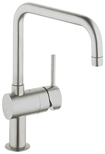 Cheap Price Grohe Minta Supersteel 32488DC0 Single-Lever Sink Tap ...