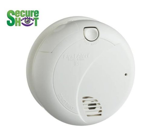 Spysonic Covert Hidden Camera Nanny Cam Night Vision Smoke Detector With Camera Digital Video Recorder Built Inside