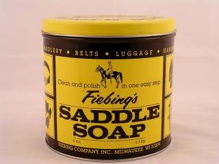 Saddle Soap Paste, Yellow, 5Lb