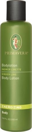 プリマヴェーラ Energizing Ginger Lime Body Lotionエナジャイジング ジンジャーライムボティーローション200mL 6.7fl.oz