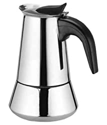 Grand 4 Cup Stainless steel Coffee Filter/percolator/Moka Pot