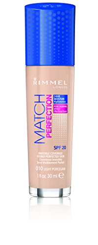 Rimmel London, Fondotinta Match Perfection, Light Porcelain