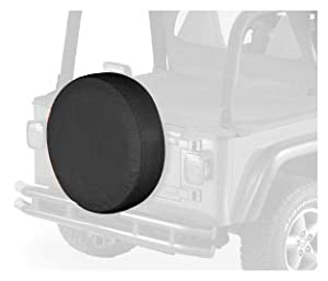 Bestop 61031-35 Black Diamond X-Large Tire Cover for tires 31″ diameter, 11″ deep