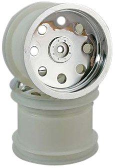Traxxas 3672 Rear Chrome Wheel, Rustler, 2-Piece