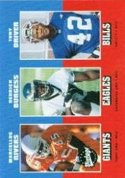 2001 Upper Deck Vintage #289 Marcellus Rivers/Derrick Burgess/Tony Driver Rc