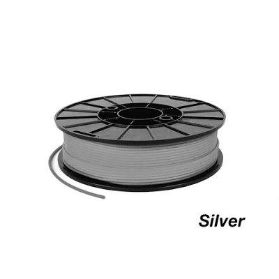NinjaFlex Silver TPE 3D Printing Filament - 1.75mm