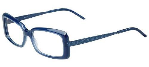 a7a2dea8dcb046 Gucci Women s 3546 Opal Blue Frame Plastic Eyeglasses, ...