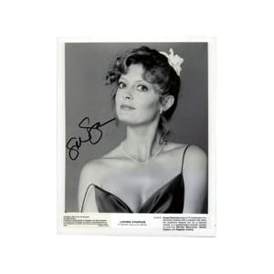 Signed Sarandon, Susan 8x10