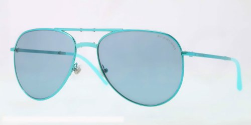 Burberry  Burberry BE3071 Sunglasses-117980 Turquoise (Blue Lens)-57mm