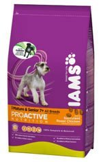Iams Dog Food Mature / Senior Chicken 12kg