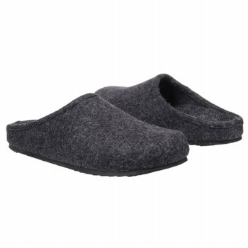 Orthaheel Navarre Mule Slipper - Charcoal - 8