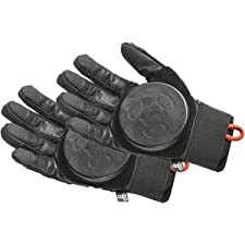 Triple Eight Longboard Downhill Slide Glove [X-Small] Black