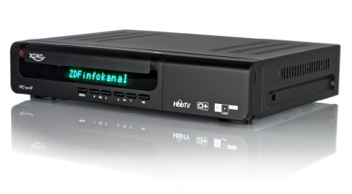 Xoro HRS 9500 IP Digitaler HD+ Satelliten-Receiver mit Twin-Tuner