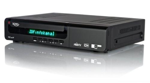 Xoro HRS 9500 IP Digitaler HD+ Satelliten-Receiver mit Twin-Tuner