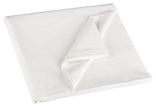 ZOLLNER-Betttuch-Bettlaken-wei-ohne-Gummizug-250x150-cm-aus-100-Baumwolle-direkt-vom-Hotelwschspezialisten-Serie-22400