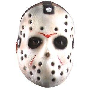 [Jason Mask Horror Classic Costume Accessory Adult Friday the 13th Halloween] (Classic Jason Costume)