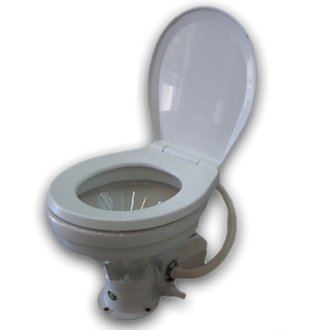 Electric Marine Large Deluxe Toilet/head 12v for Boat & Rv . Five Oceans