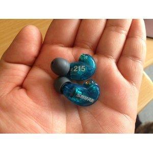 【国内正規品】 SHURE 高遮音性イヤホン SE215 Special Edition トランススルーセントブルー SE215SPE-A