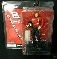 NASCAR Series 3 Dale Earnhardt Jr Figure (Variant Base) - 1