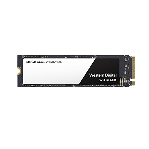 웨스턴 디지털 WD 블랙 SSD 250GB/500GB/1TB M.2 2280 - Western Digital Black High-Performance NVMe PCIe Gen3 - WDS500G2X0C