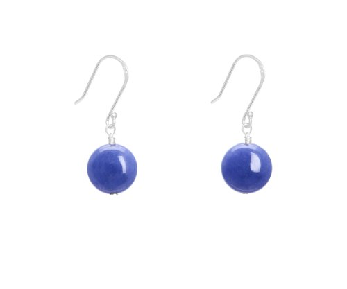 Lola Rose 'Belle' True Blue Quartzite Earrings