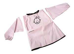 Just Born LSB9817 - Babero de manga larga, color rosa - BebeHogar.com