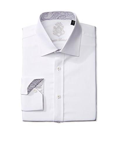 English Laundry Men's Tonali Solid Dress Shirt