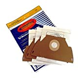 GE Canister CN-1 Vacuum Bags Microfiltration with Closure - 3 Pack