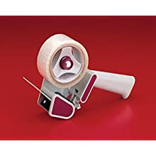 "Nifty Products D793AB 3"" Featherweight Pistol Grip Tape Dispenser with Adjustable Brake, Gray/Blue (Case of 20)"