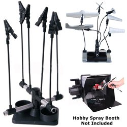 Master Airbrush® Brand Airbrush Project Holder the Almighty Clip Holder with 6 Alligator Clips