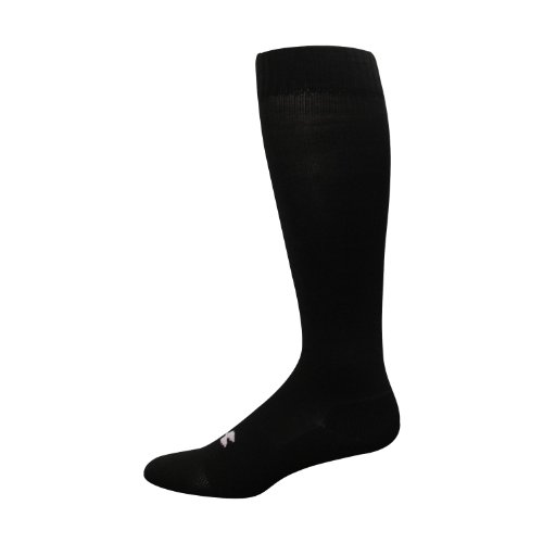 Under Armour Men's HeatGear® Boot Sock Socks by Under Armour (Large/Black)