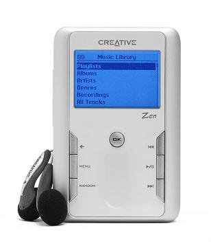 Creative Zen Touch 20GB MP3 Player