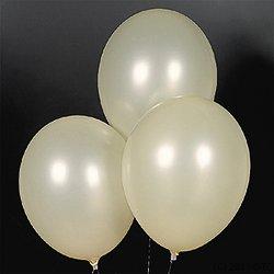 "Latex Ivory Balloons 144 pcs 11"""