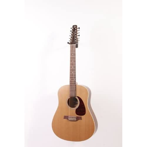 Seagull Coastline Series S12 Dreadnought 12-String QI Acoustic-Electric Guitar Natural 886830934704