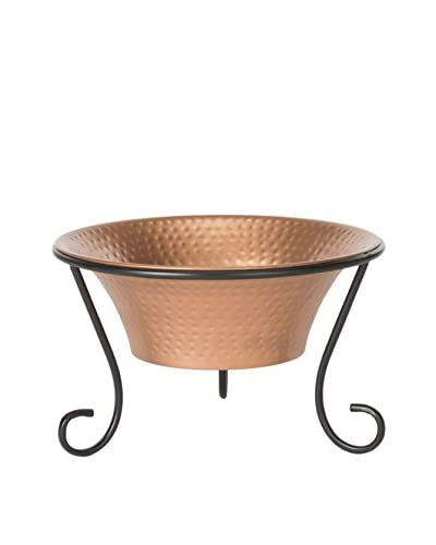 Safavieh Rico Fire Pit, Copper/Black