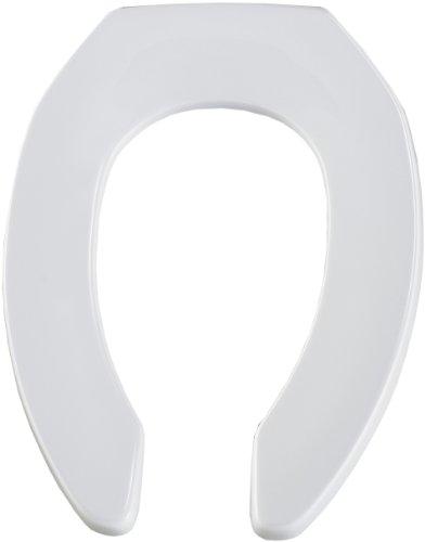 Bemis 1955ct 000 Commercial Plastic Open Front Toilet Seat
