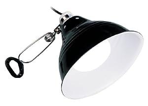Exo Terra Glow Light Porcelain Clamp Lamp, 10-Inch Long
