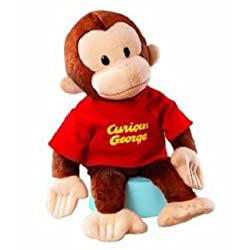 "Classic Curious George 16"" by Russ Berrie"