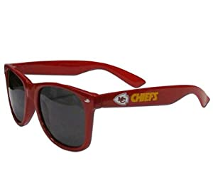 Kansas City Chiefs Wayfarer Sunglasses by Siskiyou