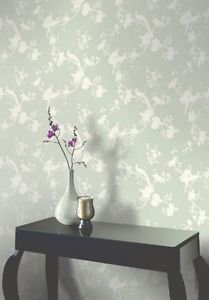 Opera Chinoise Shadow Wallpaper - Sage by New A-Brend
