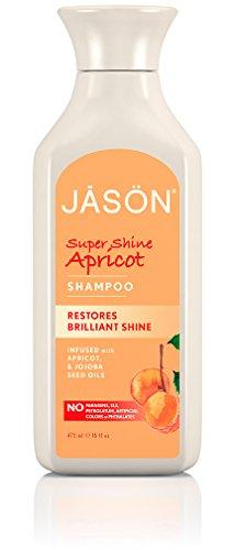 Jason Super Shine Apricot Shampoo, 16 Fluid Ounce (Jason Natural Shampoo compare prices)
