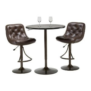 Hillsdale Furniture Aspen 3 Piece Pub Table Set