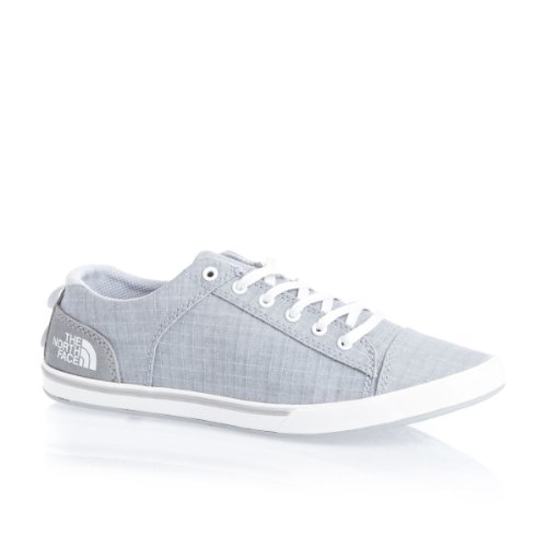 The north face womens base c lite shoes high rise grey tnf white