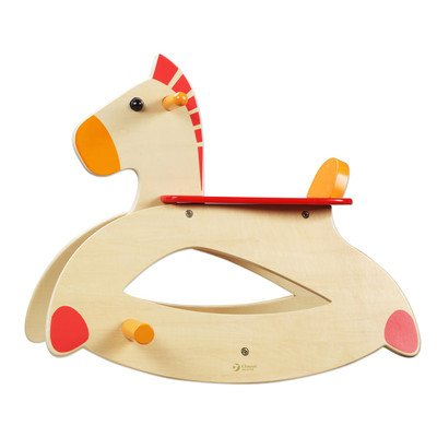 Baby Girl Rocking Horse back-629301