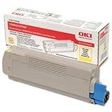 Brand New. OKI Laser Toner Cartridge Page Life 5000pp Yellow [for C5800 C5900 C5550 MFP] Ref 43324421